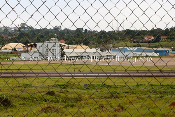 """UGANDA, Entebbe. Old Entebbe Airport (site of the 1976 Israeli """"Raid on Entebbe"""" rescue of more than 100 Jews held hostage in an Air France hijacking) (9.2013)"""