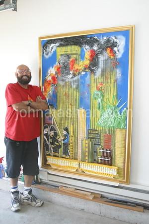 Pat Marano's Noodle Art - August 17, 2004
