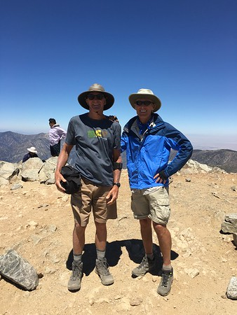 Climbing Mt Baldy with Gnarly Mike - 8/6/16