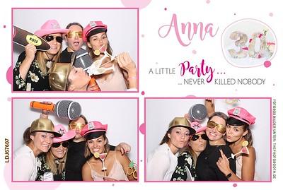 Annas 30. Party