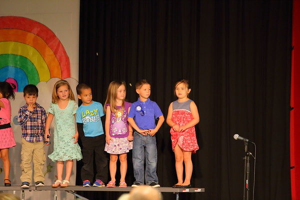Grayson's pre-K end of year