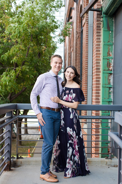 Kiefer and Jessyka Engagement