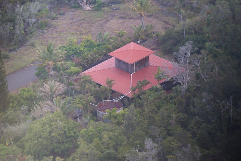 A vacation home right in the middle of the active volcano field