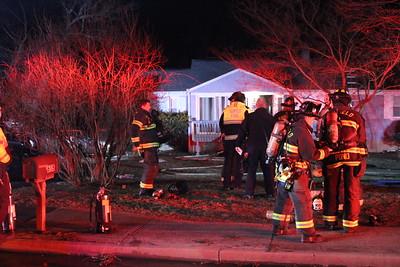 House fire - 615 Burroughs Rd Fairfield, CT - 3/6/2021