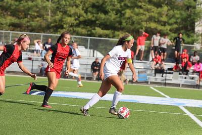 10.16.21 Queens College Women's Soccer vs. Roberts Wesleyan