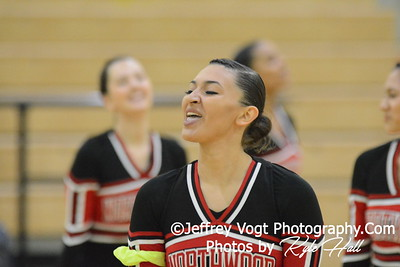 1-09-2016 Northwood HS Varsity Poms at Northwest HS, Photos by Jeffrey Vogt Photography with Kyle Hall