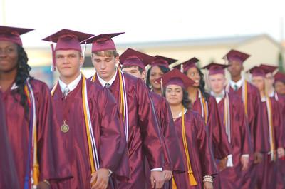 Palestine High School Graduation 2014