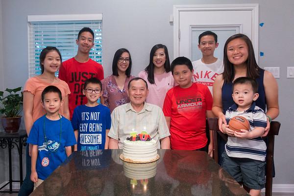 Tu Van Ho 70th Birthday and Easter Egg Hunt