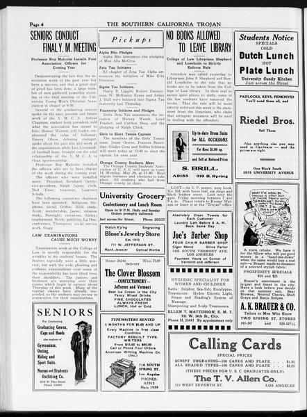 The Southern California Trojan, Vol. 7, No. 122, May 24, 1916