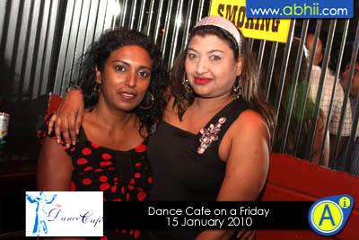 Dance Cafe - 15th Jan 2010