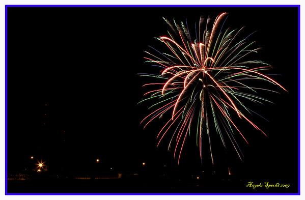 Wabamun Fireworks