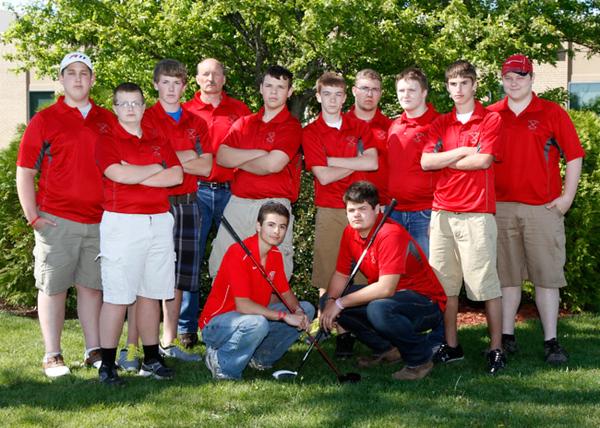 SN Boys Golf 2012