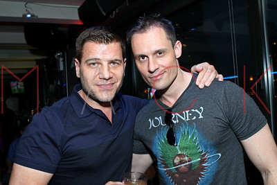 NEW YORK, NY - JULY 03:  Retro Thursdays at The Empire Rooftop Lounge on July 3, 2014 in New York City.