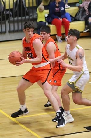 15V Boys Basketball:  Wheelersburg at Greenup 2020