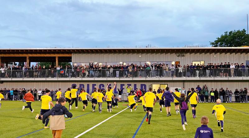 Nepple Basler Cup - Junioren A Cupsieger:   SC Binningen  / 30. Juni 2021
