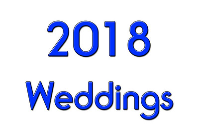 WEDDINGS 2018