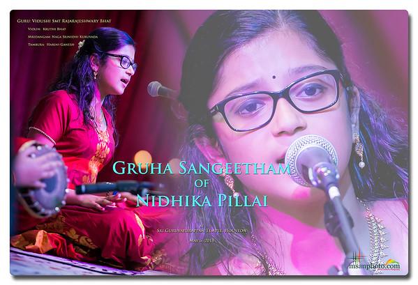 Nidhika's Gruha Sangeetham