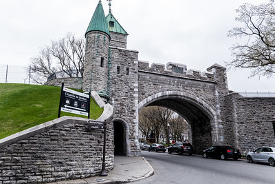 The Ramparts Of Quebec City
