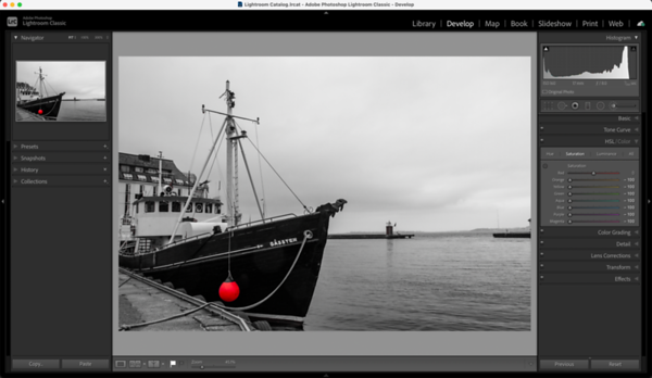Lightroom - How To Create A Duotone