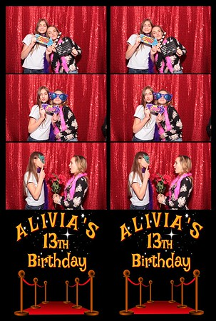 Alivia's 13th Birthday