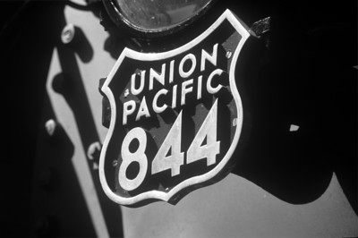 Legendary steam locomotive 844