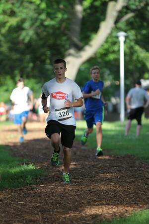 One Mile Fun Run - 2014 Clawson Freedom Run