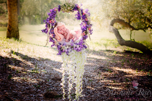 Outdoor Floral Wreath