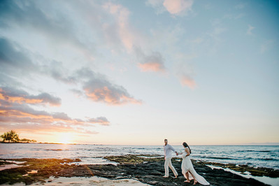 A + A // Kukio Beach Wedding