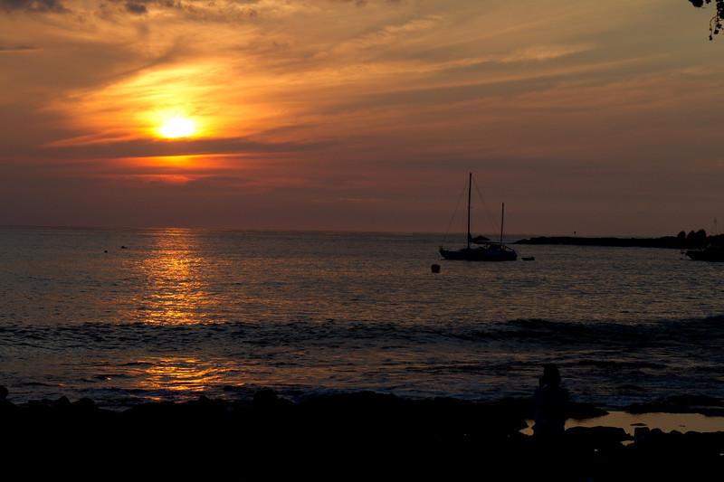 Sunset Tuesday night