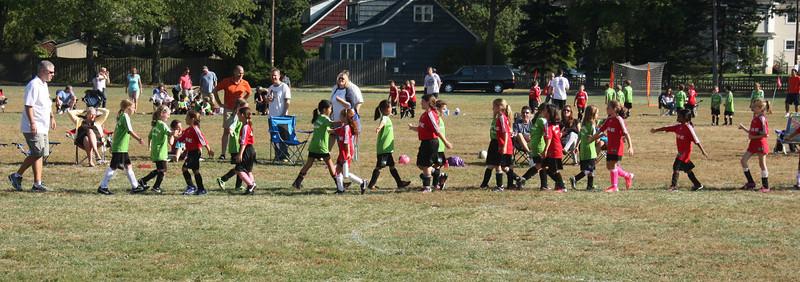 Julia's Soccer Game 2013