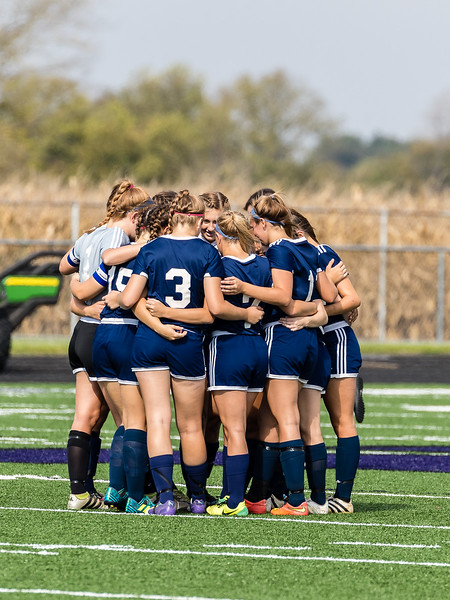 CC Girls Varsity Soccer vs University 2017-10-14 Regional Semi-finals