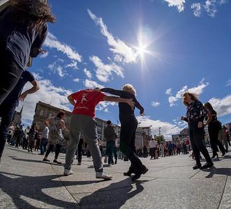Salsa flashmob
