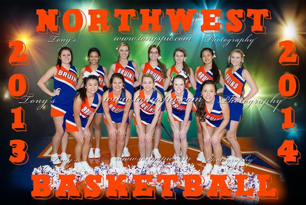 BasketBall Cheerleaders 2013-14