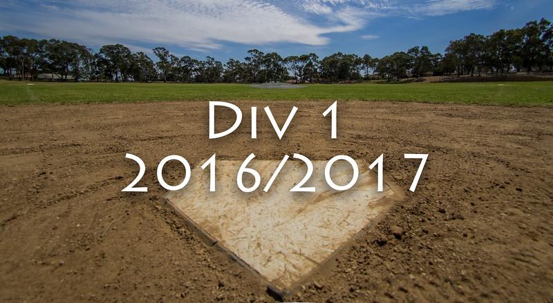 Div 1 2016/2017
