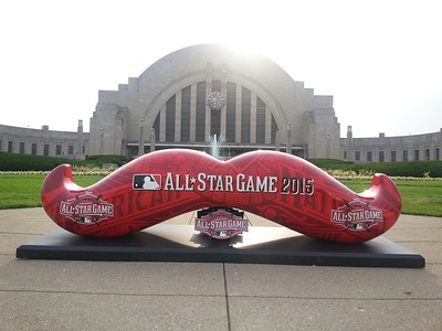 MLB All-Star Game Mustaches - Cincinnati - Summer 2015