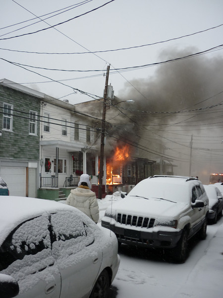 Schuylkill County - Mahanoy City Borough - Working Dwelling Fire 12/19/09