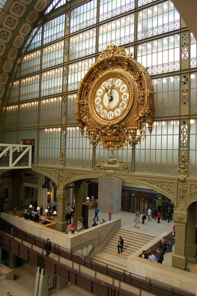 Museum d'Orsay.  Jill toured this museum solo!