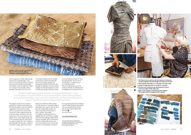 Marie Labarelle - Textile & fashion designer