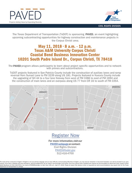TxDOT - Corpus Christi - 05 11 18