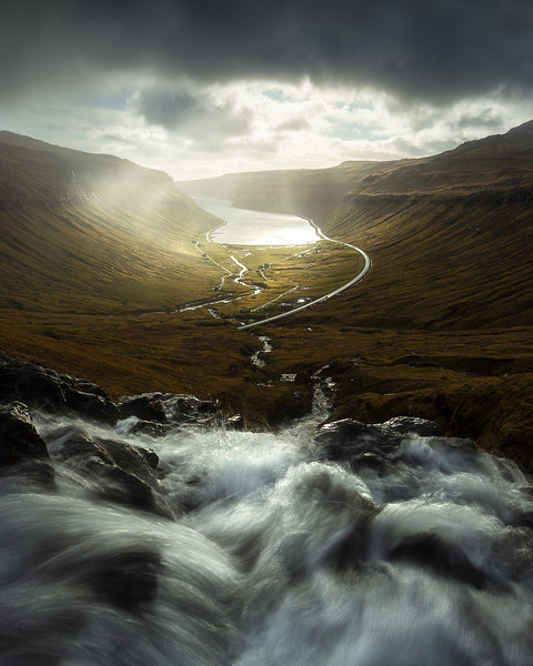 Kaldbaksbotnur Faroe Islands Landscape Photography Waterfall.jpg