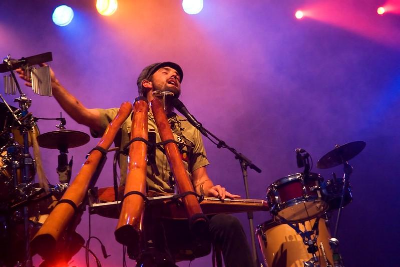 Xavier at Ottawa Bluesfest