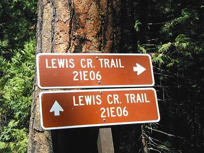 San Luis Creek Trail, August 2002