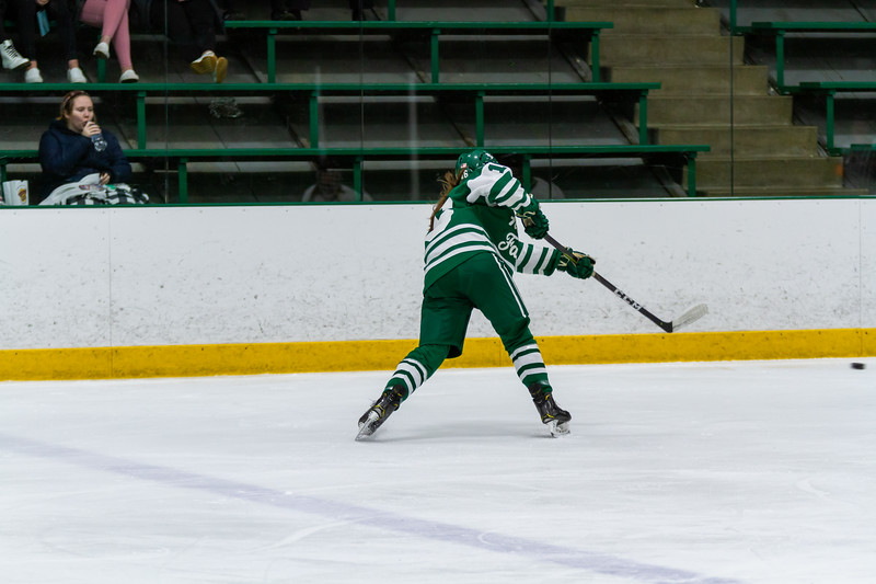 Holy Family's Maddie Morgan '22 (16) vs. Eden Prairie at Braemar Arena - Collin Nawrocki/The Phoenix