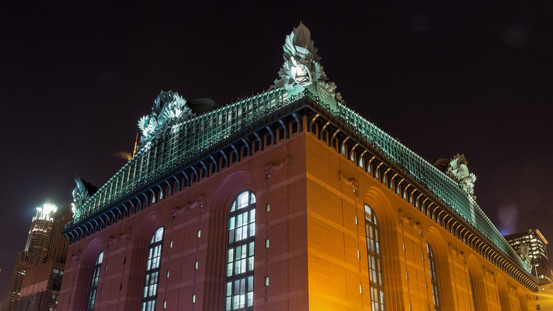 Night Owls and Harold Washington Library