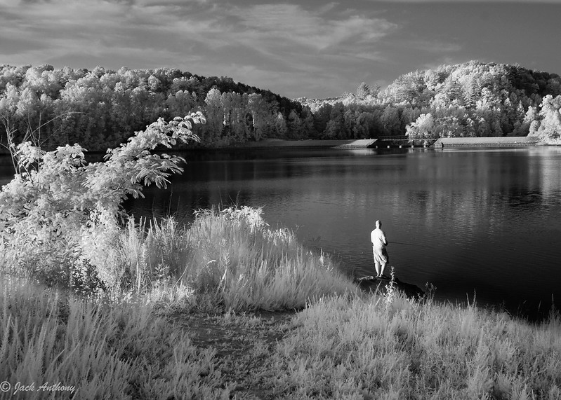 Lake Zwerner in Infrared