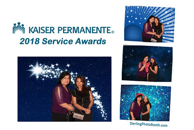 Kaiser Permanente 2018 Service Awards