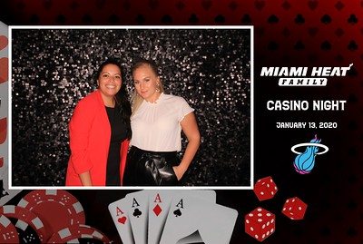 2020-01-13 MIAMI HEAT FAMILY CASINO NIGHT