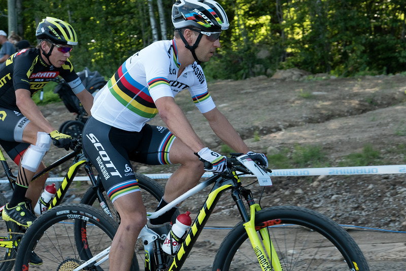 Andri Frischknecht (Sui) Scott-SRAM MTB Racing /  Nino Schurter (Sui) Scott-SRAM MTB Racing