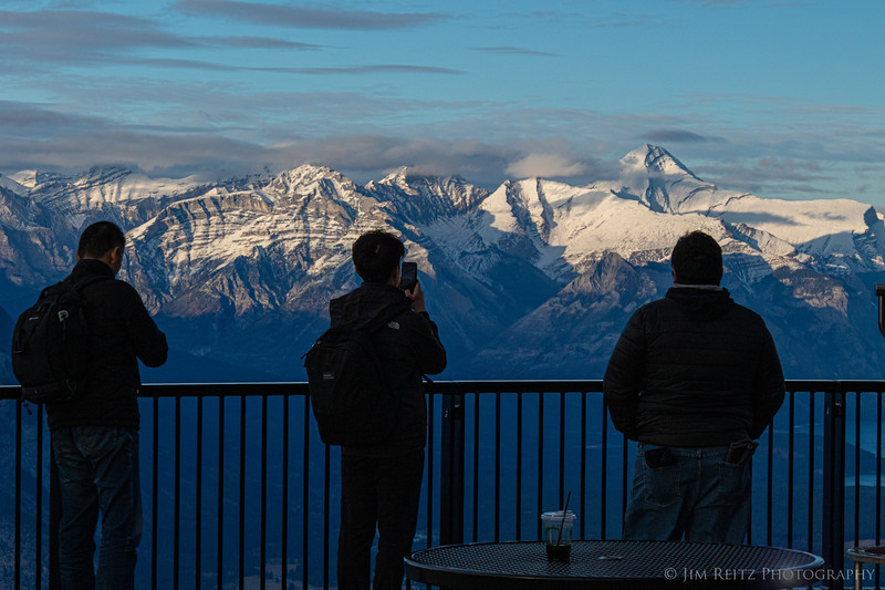 View from top of Sulphur Mountain - Banff, Alberta
