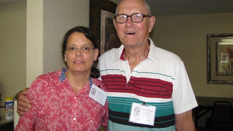 Carla Hansen and Orville Jacobi